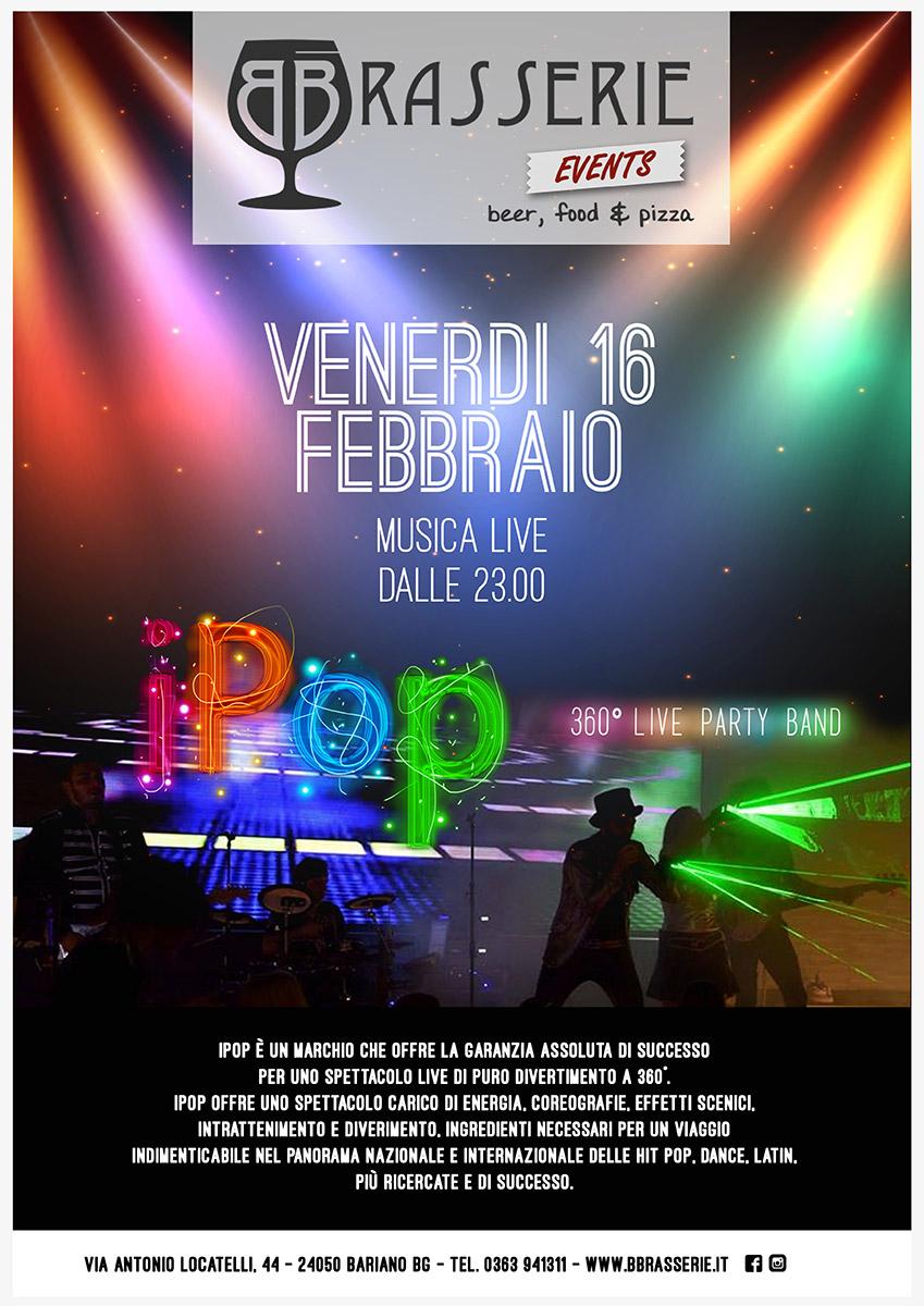 IPOP musica live