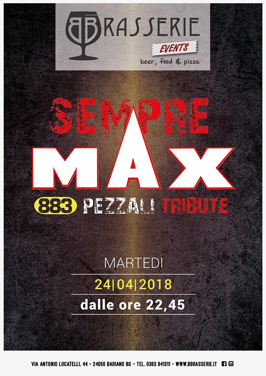 SEMPRE MAX – 883 Pezzali tribute